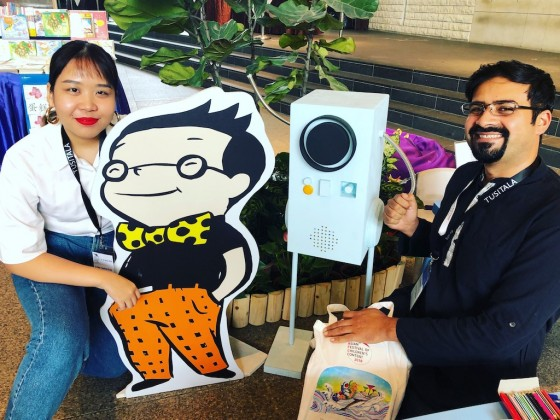 Making Things Come Alive at the Asian Festival of Children's Content!