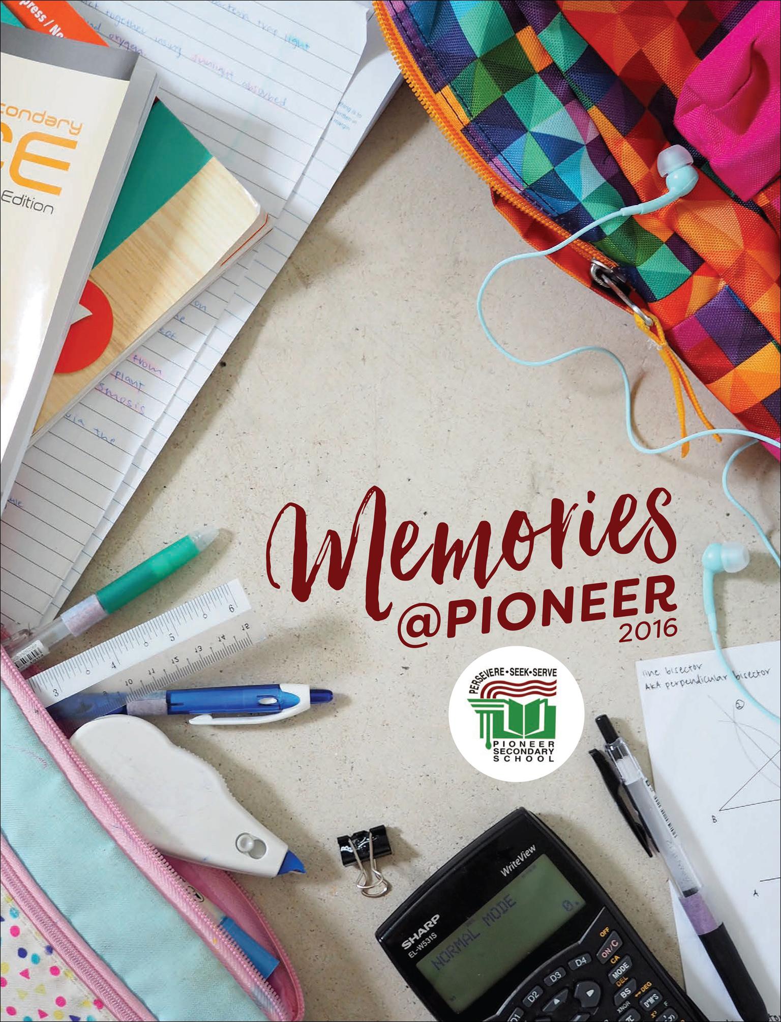 Memories@Pioneer 2016