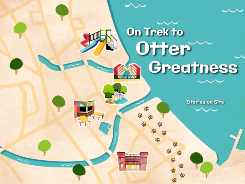 Stories on Site: On Trek to Otter Greatness